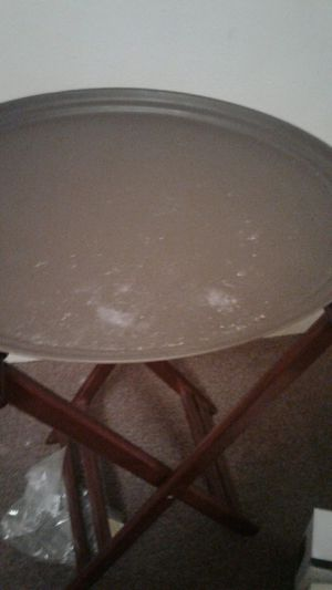 Serving tray and stand for Sale in Alexandria, LA