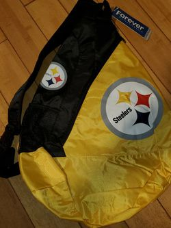 NFL Pittsburgh Steelers sling Backpack for Sale in Greenville,  SC