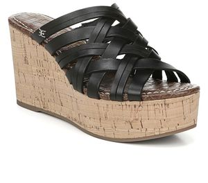 New Sam Edelman Devon Leather Wedge Sandal size 81/2 for Sale in Tustin, CA