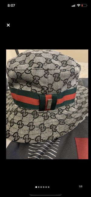 Gucci bucket hat for Sale in E FAYETTEVLLE, NC