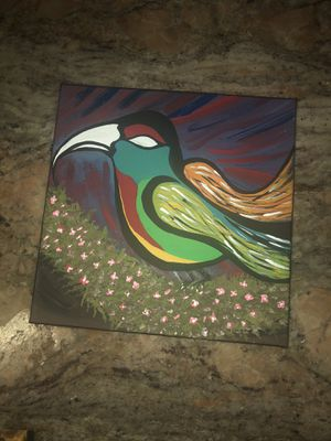 Original, hand painted acrylic abstract paintings on canvas for Sale in Zephyrhills, FL