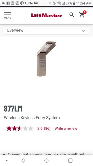Garage keypad for Sale in Ceres, CA