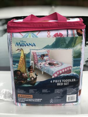 New Moana Bedding Set 4 Pieces for Sale in St. Louis, MO
