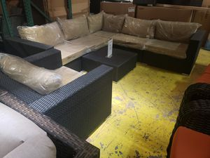 New 7pc outdoor patio furniture seating set tax included delivery available for Sale in Hayward, CA