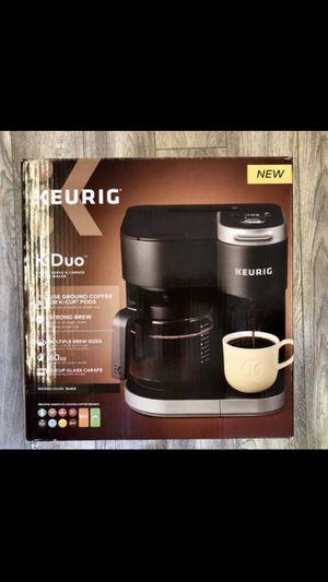 Keurig K-Duo Single-Serve & Carafe Coffee Maker for Sale in Los Angeles, CA