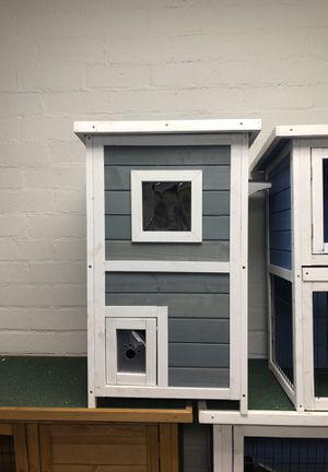 Grey cat house play space living pet s for Sale in Vernon, CA