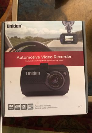 Uniden Automative video recorder DC1 for Sale in Saint Paul, MN