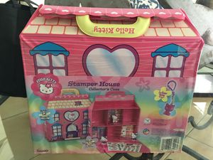Hello Kitty Stamper House Collector's Case for Sale in Miami, FL