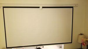 "100"" Homegear motorized projector screen for Sale in Lancaster, PA"