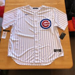 Brand new Nike Chicago cubs baseball authentic jersey men's XXL 2XL for Sale in El Cajon,  CA