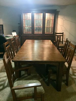 Dining Room Set / Hutch / Shelve Unit REDUCED PRICE for Sale in Wichita, KS