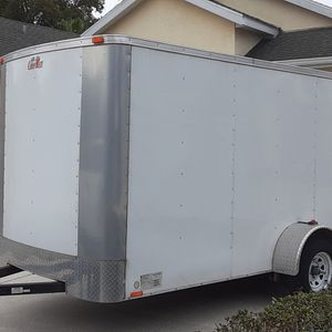 7 x 12 Enclosed trailer for Sale in Dade City, FL