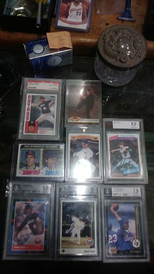 Nolan Ryan sports cards some graded for Sale in Balfour, ND