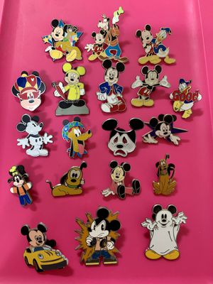19 Disney Parks Authentic Trading Pins for Sale in Glendale, CA