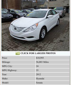2012 Hyundai Sonata for Sale in Chicago, IL