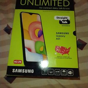 Samsung Galaxy A01 -Black-. With 32 Gbs And 3 Gbs Of Ram for Sale in Mansfield, NJ