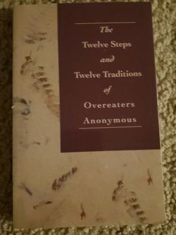 The twelve Steps and Twelve Traditions of Overeaters for Sale in Dublin,  OH