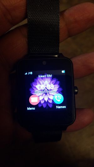 Z60 smartwatch with bluetooth for Sale in Accokeek, MD