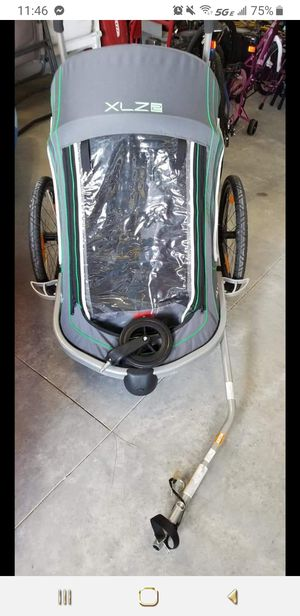 Allen Sports Aluminum 2 Child Trailer/Single & Double Swivel Wheel Stroller. for Sale in VLG WELLINGTN, FL