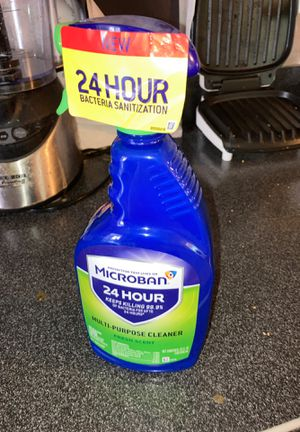 Microban 24 multipurpose cleaner new for Sale in Silver Spring, MD