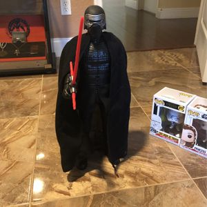 18 Inch Kylo Ren Action Figure for Sale in West Palm Beach, FL