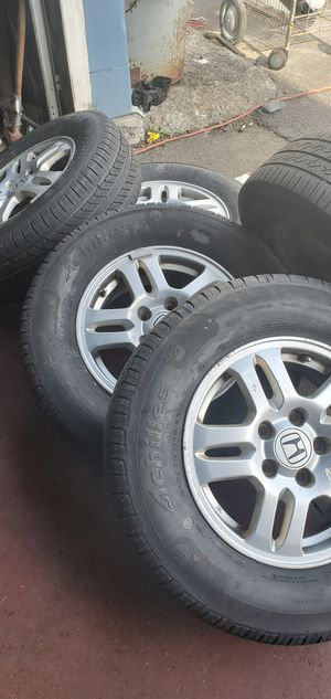 HONDA CRV RIMS AND TIRES for Sale in Menands, NY
