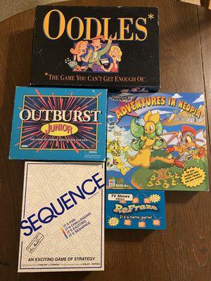 Classic Board Games for Sale in Chicago, IL