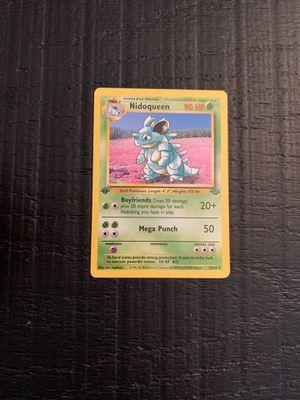 Nidoqueen pokemon 1st edition for Sale in Miami, FL