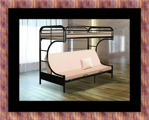 Twin futon bunk bed frame for Sale in Fort Washington, MD
