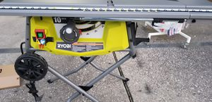 "Ryobi10""in- table Saw $185 for Sale in Houston, TX"