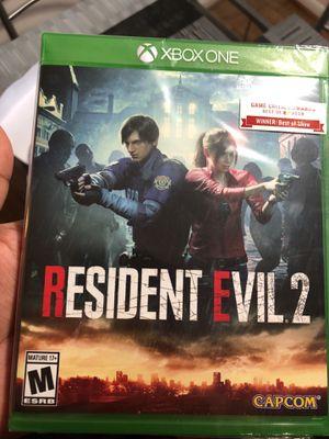 Resident evil 2 for Xbox one for Sale in Alexandria, VA
