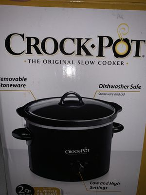 Crockpot slow cooker for Sale in Port St. Lucie, FL