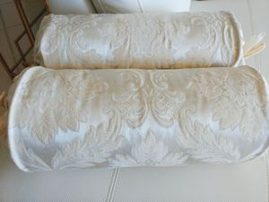 Two Large Bolster Pillows for Sale in West Palm Beach, FL