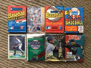 Sealed Baseball Card Packs Lot Of 6 With 2 Bonus Cards. Brett/Jones for Sale in La Mirada, CA