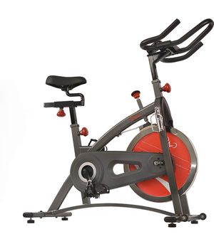 Sunny Health & Fitness Indoor Exercise Bike with Digital Display and 40 LB Flywheel for Sale in Glendale, AZ