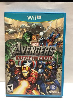 Nintendo Wii U Avengers Battle for Earth for Sale in Chicago, IL