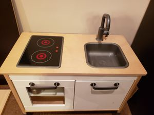 Ikea Kitchen Set with pots and pans for Sale in South Riding, VA