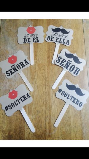 Spanish Wedding Photo Booth Props for Sale in National City, CA