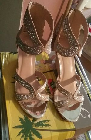 Taupe Wedge/Heel - Size 7.5 for Sale in Los Angeles, CA