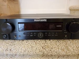 Marantz NR1501 7.1 ch -350 total watts Home Theater Receiver and RC006SR Remote for Sale in Los Angeles, CA