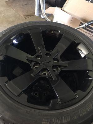 22x9 Chevrolet Midnight Edition Gloss Black Wheels/Rims for Sale in Corona, CA