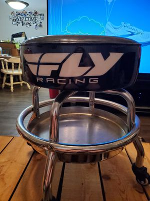 Fly racing shop stool for Sale in Mesquite, TX