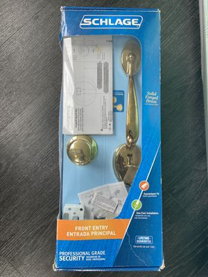 Schlage Front Entry Door Knob for Sale in Chicago, IL
