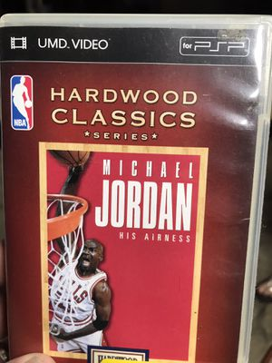 PSP Hard Wood Classics of Michael Jordan for Sale in Montclair, CA