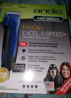 Brand new Andis dog clippers for Sale in Abilene, TX