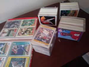 Alot of sports cards mostly baseball / a signed baseball for Sale in Columbus, OH