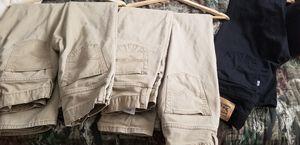 Levi's pants (5 khaki and 1 black) for Sale in Seaford, DE