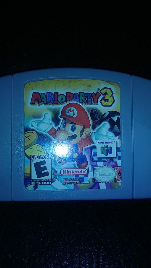 Mario party 3 n64