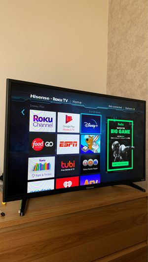 "Hisense 32"" 720P HD LED Roku Smart TV for Sale in Fairchild Air Force Base, WA"