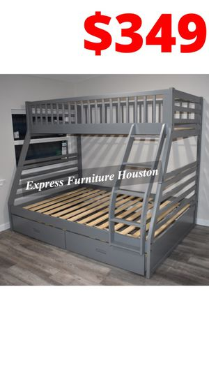 HOT DEAL!🤩 Twin over Full Bunk Bed for Sale in Houston, TX